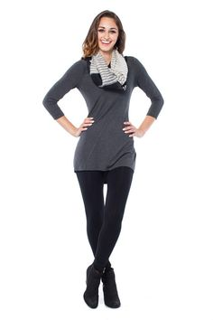 Emily Tunic in Stripe Eco Friendly Fashion, Sustainable Fashion, Fall Winter, Tunic, Hoodies, Womens Fashion, Sweaters, Collection, Robe