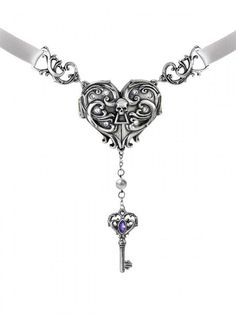 """""""Inamorato"""" Locket Necklace by Alchemy of England"""