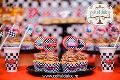 Disney Cars Cupcakes, party, candy bar Coltul dulce
