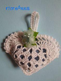 Spiegazioni bomboniera cuore a crochet !!! (prima parte) – ricreAnna – Creazioni all'uncinetto