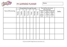 Daily Homework Planner - PDF File/Printable | Homework planner ...