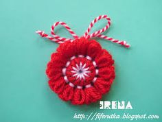 Резултат с изображение за martenici Fringes, Tassels, Christmas Ornaments, Tags, Holiday Decor, Crafts, Home Decor, Bebe, Bangs
