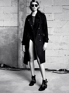 Tapped for Sandro Fall/Winter 2013 Lookbook