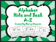 Alphabet Hide and Seek A-Z