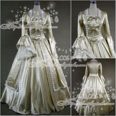 >> Click to Buy << HOT Ladies Victorian Lolita Women Cos Anime Cosplay Costum Uniforms Gothic Palace Princess Champagne Dress #Affiliate