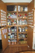 My Year Living On Food Storage: How is your food storage organized? Food Storage Organization, Canned Food Storage, Food Tips, Food Hacks, Emergency Preparedness, Survival, Canning Recipes, Frugal Living, Just In Case