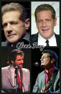"""Glenn Frey forever in our hearts 1948-2016. """"If there is a rock and roll heaven you know they have a hell of a band"""""""