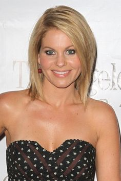 Home For The Holidays to Benefit The Angeles Clinic Foundation 2011 - candace-cameron-bure Photo Candace Cameron Bure, My Hairstyle, Pretty Hairstyles, Bob Hairstyles, Straight Hairstyles, Bob Haircuts, Wedding Hairstyles, Celebrity Hairstyles, Medium Haircuts