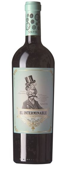 El Interminable, de SinFin Wine Packaging, Packaging Design, Wine Label Design, Wine Wednesday, In Vino Veritas, E Commerce, Cabernet Sauvignon, Wine Country, Vodka Bottle