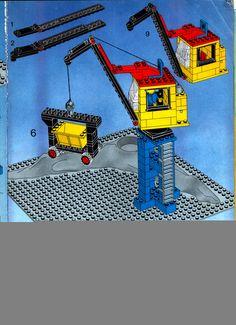 LEGO 7777 Trains Ideas Book instructions displayed page by page to help you build this amazing LEGO Books set Lego Crane, Lego Books, Lego Police, Classic Lego, Lego Activities, Lego System, Lego Storage, Lego Bionicle, Lego Instructions