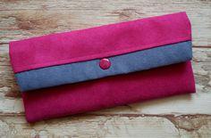 • atrakcyjne portfele hand made - portfelik z ekozamszu Wallet, Handmade, Hand Made, Purses, Diy Wallet, Purse, Handarbeit