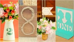 Our collection of 20 DIY Wedding Table Number Ideas for your Big Day can easily be created by following the DIY tips and tutorials provided for each DIY wedding table number idea.