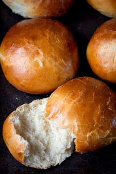 These buns are light, not overly sweet, and the perfect vessel for a homemade juicy burger