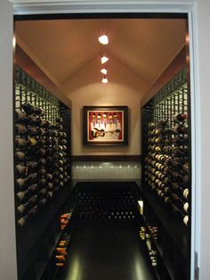 Contemporary Wine Cellar - contemporary - wine cellar - other metro - Kessick Wine Cellars