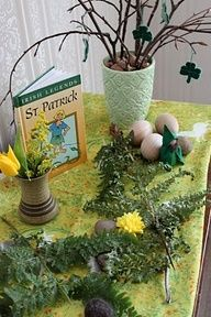 waldorf march nature table