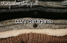 cardigans...probably my favorite clothing item in the world!