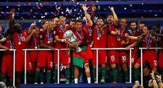 Euro 2016: Portugal Campeão Europeu European Champion