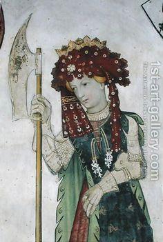 Giacomo Jaquerio - The Nine Worthies and the Nine Worthy Women, (1418 - 1430) - The-Nine-Worthies-And-The-Nine-Worthy-Women-7.jpg (403×600)