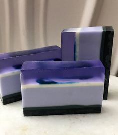 A personal favorite from my Etsy shop https://www.etsy.com/listing/559213257/purple-passion-soap