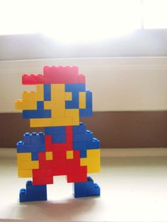 8 Bit Lego Sculptures