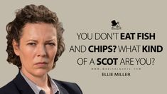Most Famous Quotes, Broadchurch, Tv Show Quotes, Fish And Chips, Happy Fun, Tv Shows, My Favorite Things, Eat, Fun Things