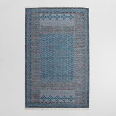 $150 Hand block printed by artisans in Jaipur, India, our reversible rug is an exclusive work of art available at a remarkable price. Each pattern is hand stamped with wooden blocks on a hand-woven cotton base, resulting in slight variations in color and design.