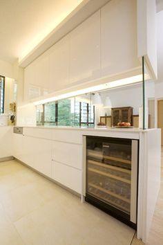 Ideas para zonas de cocina abiertas al sal n cocinas abiertas ideas para cocinas y los cristales Kitchen design companies hong kong