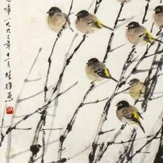 Fang Chuxiong - BIRDS   Forever Christie's - (detail)