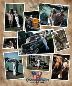 Glenn Miller Festival at the old Twinwood airfield, in the UK