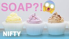 Fluffy Whipped Soap - YouTube