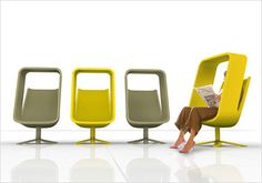 Mike and Maaike // Windowseat Chair  was recently launched at NeoCon 2013 for Haworth Collection