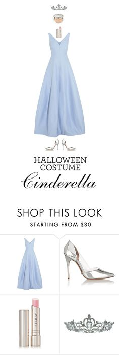 """""""Cinderella"""" by haineni on Polyvore featuring Halston Heritage, Schutz, By Terry, Kate Marie, Christian Dior, halloweencostume and DIYHalloween"""