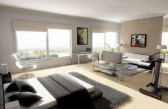Sypialnia isalon wstylistyce minimalistycznej