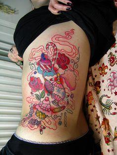 Girly Tattoo   Flickr - Photo Sharing!