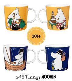 All Things Moomin - Home of the Moomins Moomin, All Things, Mugs, Tableware, Home, Dinnerware, Tumblers, Tablewares, Ad Home