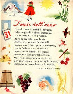 Bay Leaf Tree, Italian Vocabulary, Reading Practice, Italian Quotes, Italian Language, Learning Italian, Vintage School, Classic Italian, Vintage Cards