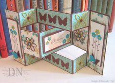 Paper, Ink, Scissors, & Stamps: Tri-Shutter Birthday Greetings: