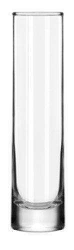Libbey 7-1/2-Inch Cylinder Bud Vase, Set of 12