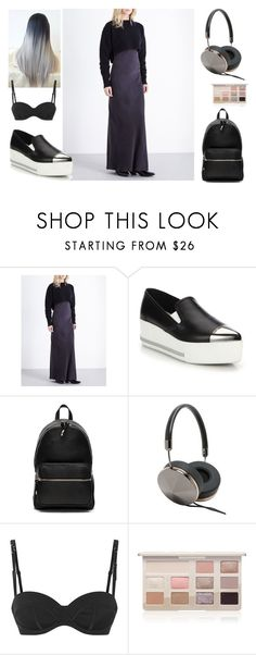 """Minimalistic"" by shiki-sakurai on Polyvore featuring мода, AllSaints, Miu Miu, Alexander Wang, Frends, Agent Provocateur и Too Faced Cosmetics"