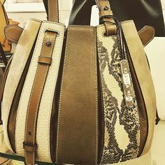 Classic iconic tote - Fern handbag imported #italian leather