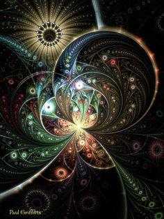 Untitled fractal art / Paul Griffitts / JWildfire / www.frackxion.com