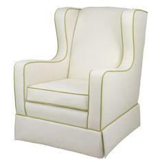 Oilo - Penelope Glider - modern - rocking chairs and gliders - - by Rocking Chairs For Sale, Glider Rocking Chair, Rocking Chair Nursery, Nursery Room Decor, Nursery Furniture, Nursery Ideas, Project Nursery, Nursery Inspiration, Color Inspiration