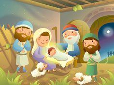 Neste modelo de lição para o departamento infantil da igreja, aprendemos sobre o nascimento de Jesus, e como Deus anunciou isso para alguns pastores.