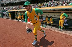 1969 Oakland A's throwback uniforms