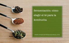 Fermentación: Cómo elegir el té para la kombucha Kombucha, Salud Natural, What You Eat, Healthy Recipes, Healthy Food, Beverages, Paleo, Coffee, Fermented Foods