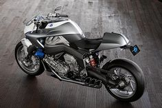 BMW Concept 6 Motorcycle - the exhaust