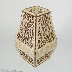 Veioza de lemn m1