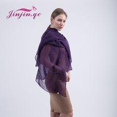 [Jinjin.QC] Fashion viscose women solid scarf spring scarves & shawls echarpe foulard femme Muslim Hijab Head Wrap