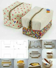 Sewing machine bag couture 39 new Ideas Sewing Hacks, Sewing Tutorials, Sewing Crafts, Sewing Projects, Makeup Bag Tutorials, Sewing Tips, Bag Patterns To Sew, Sewing Patterns, Handbag Patterns