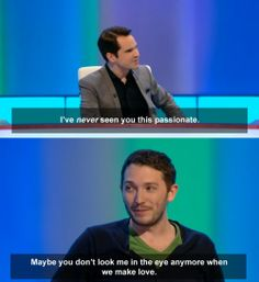 Jimmy Carr and Jon Richardson. British Humor, British Comedy, Jon Richardson, 8 Out Of 10 Cats, Mock The Week, Jimmy Carr, Little Britain, British Things, Funny People